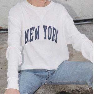 Brandy Melville Laila New York Top